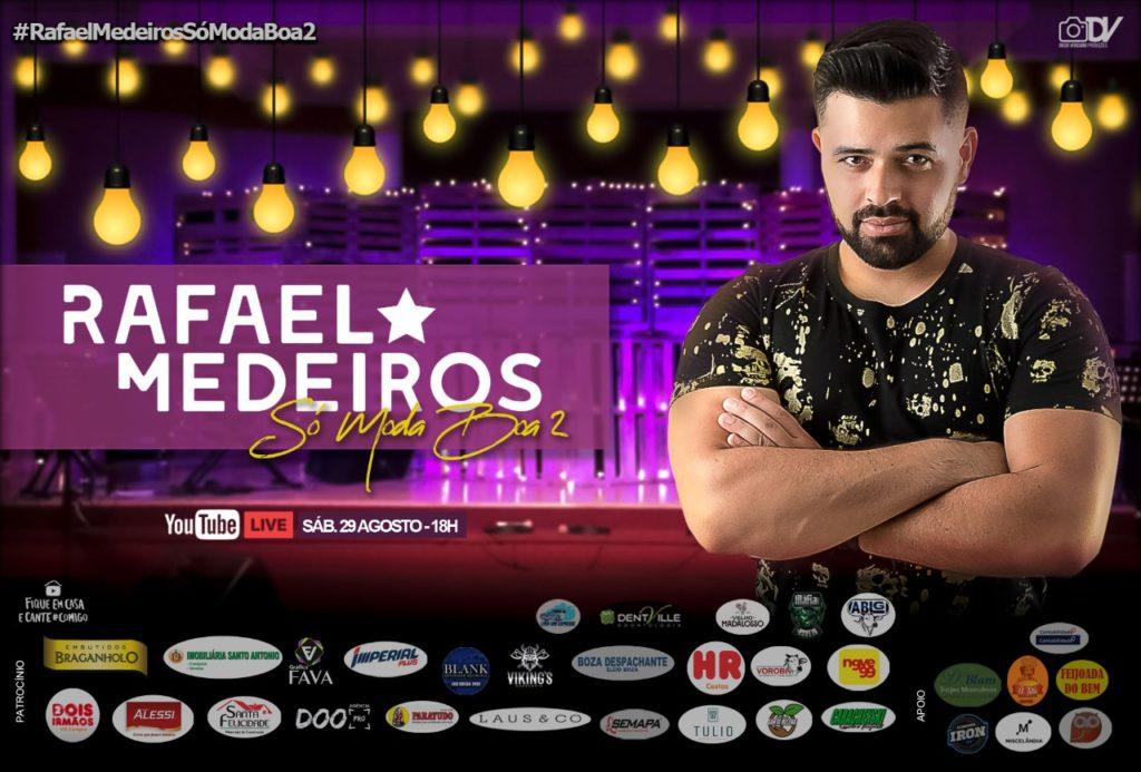 """Rafael Medeiros S%C3%B3 Moda Boa 2 1024x693 - Cantor Sertanejo Rafael Medeiros apresenta live """"Só Moda Boa 2"""" neste sábado (29) no YouTube"""