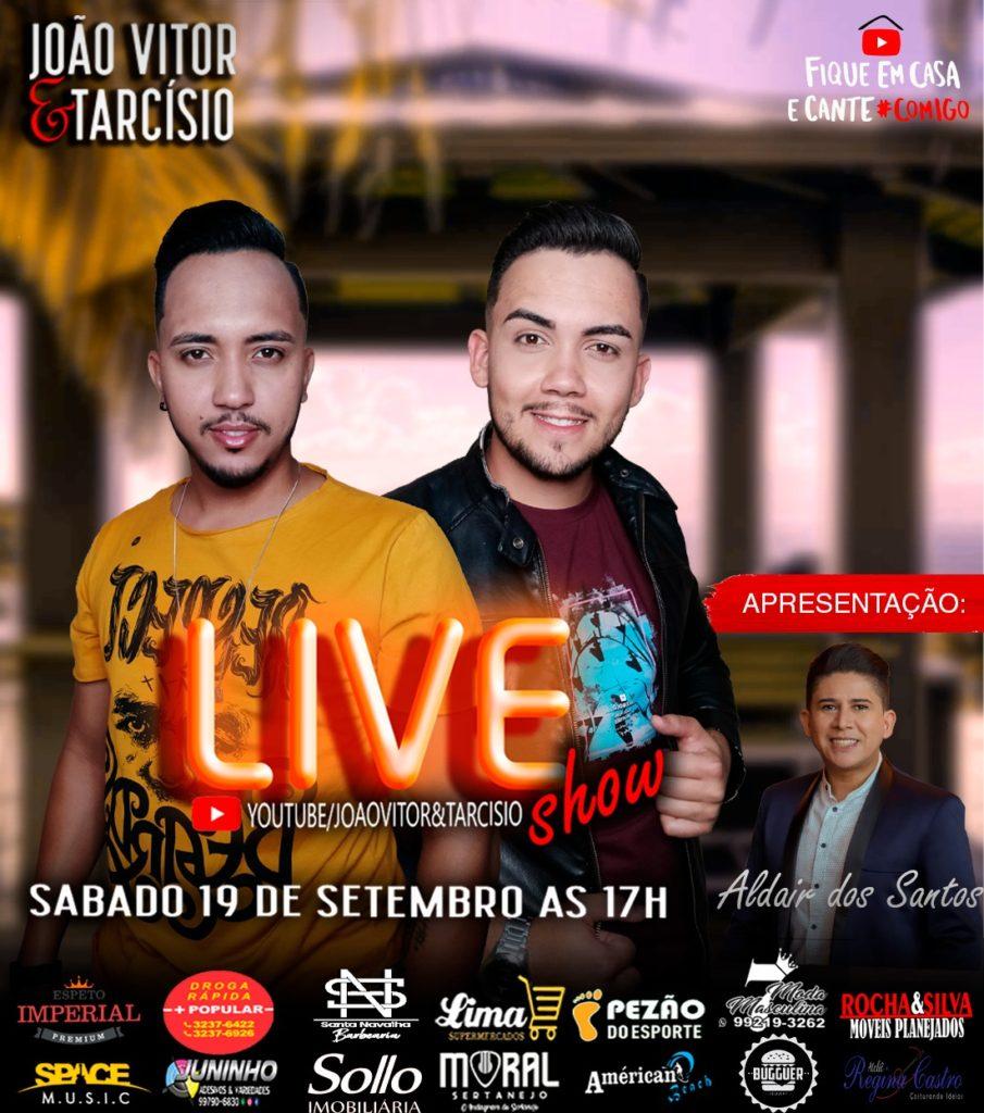WhatsApp Image 2020 09 17 at 23.57.12 905x1024 - Sertanejos João Vitor e Tarcísio preparam live neste sábado (19) no YouTube